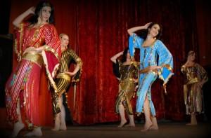 Сараб, Стилове в ориенталския танц